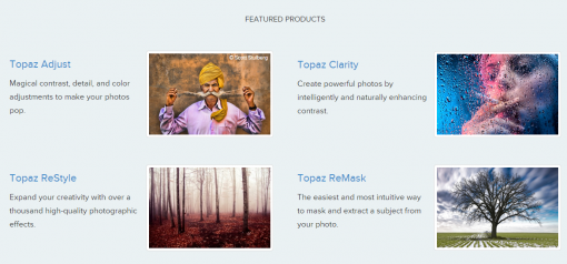 Photography Software from Topaz Labs