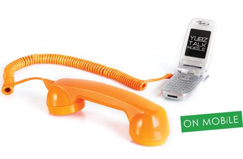 Accesorio móvil para nostálgicos Yubz Talk