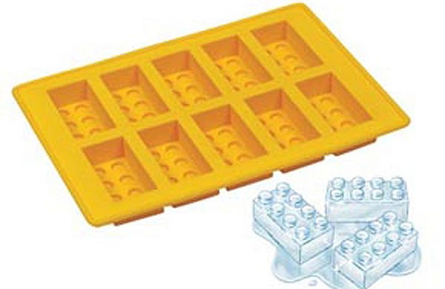 Cubitera con forma de Lego Lego-cubitera
