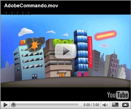 Adobe Commando | Los héroes son Illustrator, Photoshop y Flash ceslava 0