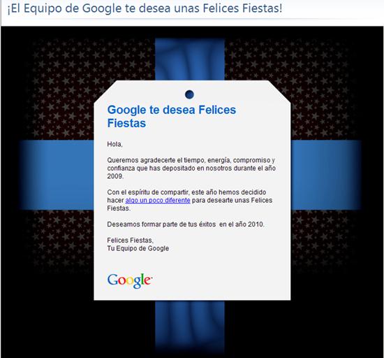 El Christmas de Google