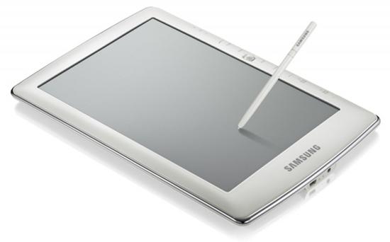 Samsung E6 y E101, lectores de e-books con WiFi, Bluetooth y reconocen tu escritura