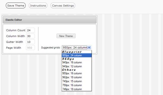 Elastic Theme Editor