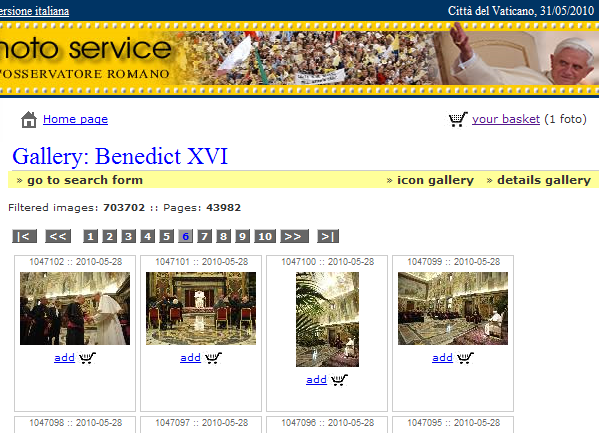 Galería del Vaticano