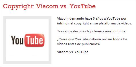 Viacom vs. YouTube