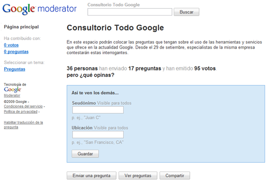 google-moderator