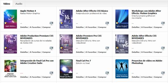 cursos audio y vídeo