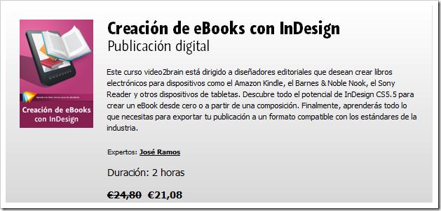 Creación de eBooks con InDesign