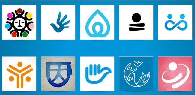 Los 10 logos escogidos por el jurado