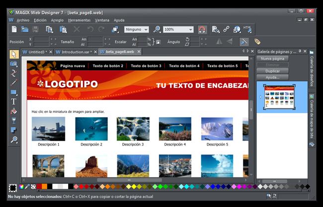 MAGIX Web Designer 7 - [beta_page8web]_0