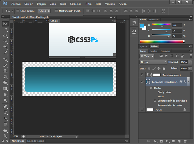 CSS3-photoshop