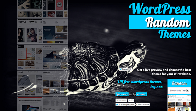 WordPressRandomThemes