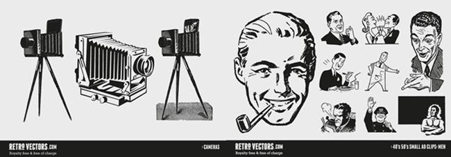retro-vectors