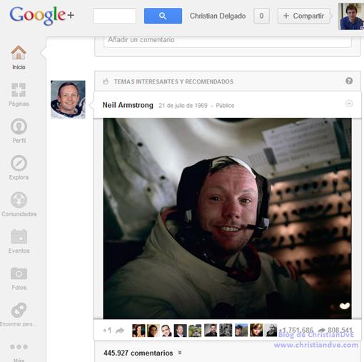 GooglePlus_de_Neil_Armstrong_hombre_en_la_Luna_Neil_Armstrong_redes_sociales_blog_de_christiandve_