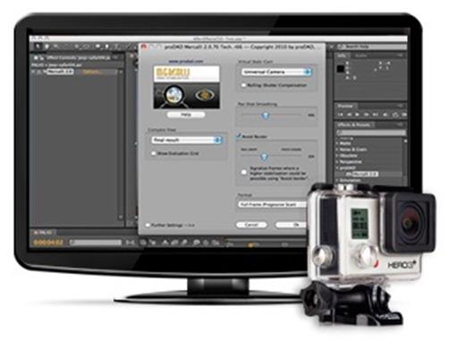 Mercalli - Monitor y GoPro