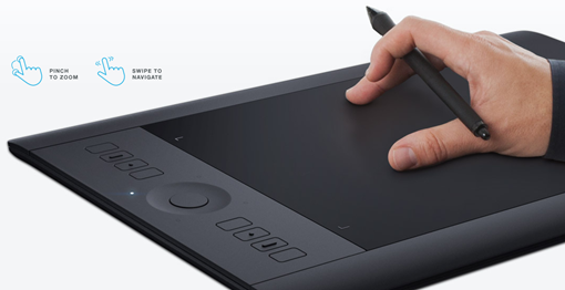 Tableta digitalizadora profesional Intuos Pro medium   Wacom