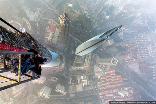 Vitaly Raskalov y Alexander Remnev vertigo shangai
