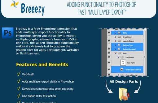 Breeezy Photoshop Extension