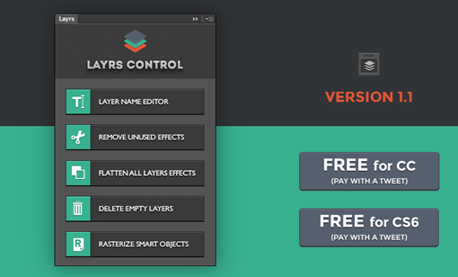 Layrs free PS extension