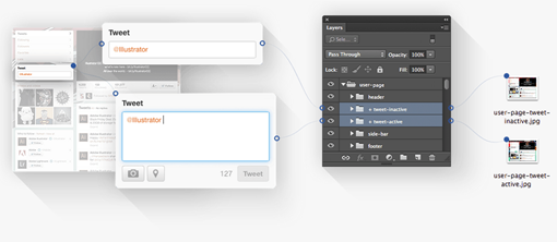 Render.ly hassle free photoshop exporting