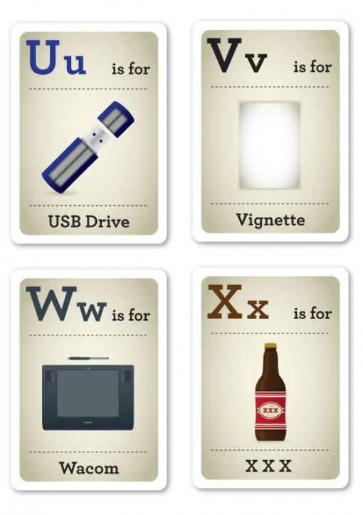 alfabeto-hipster-u-x