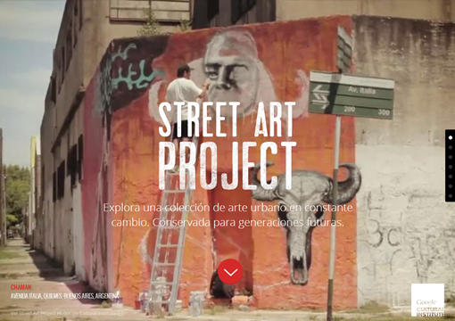 Street Art Project   Google Cultural Institute.