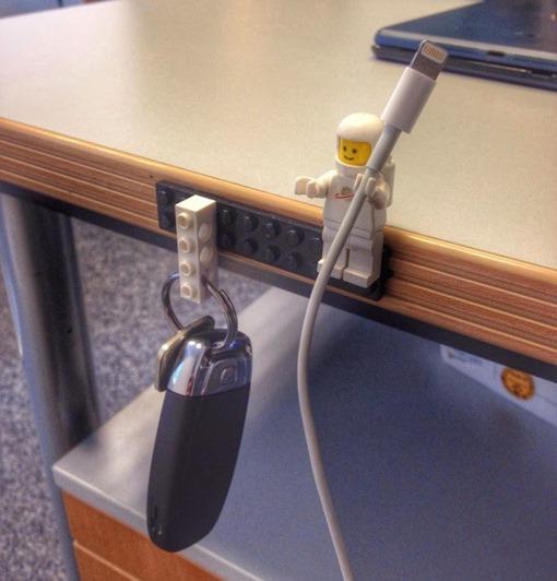 Lego-Sugru-Minifig-Cable-Holder