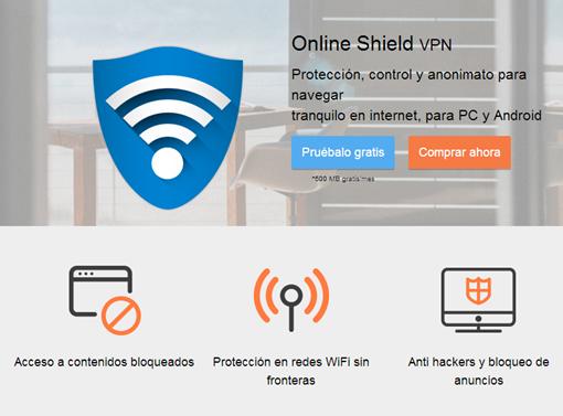 Steganos Online Shield vpn protección anti hackers y bloqueos