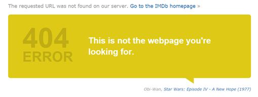 404 Error-La guerra de las galaxias