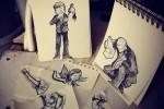 Dibujos que cobran vida al fotografiarlos en el MundoReal ceslava 4