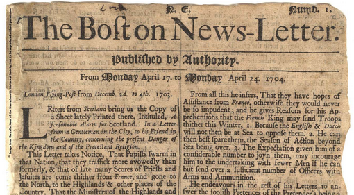 Boston_News Letter_primer-anuncio-periodico-1704