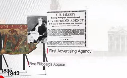 The History of Advertising in 60 Seconds-primera-agencia-publicidad