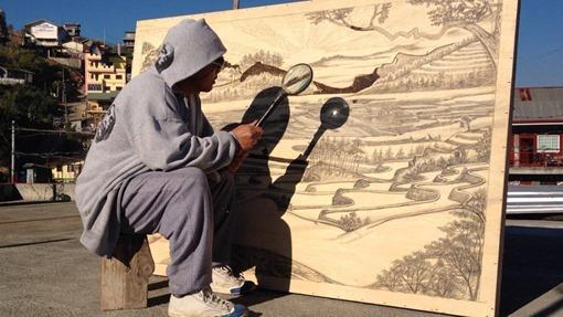 artista-pinta-lupa-sol-jordan-mang-osan