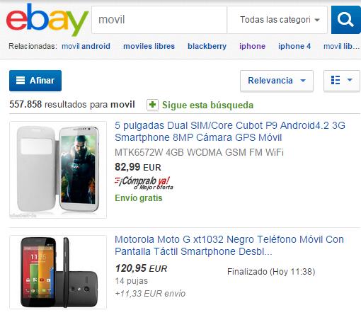 eBay.es  movil en venta. Compra movil al mejor precio