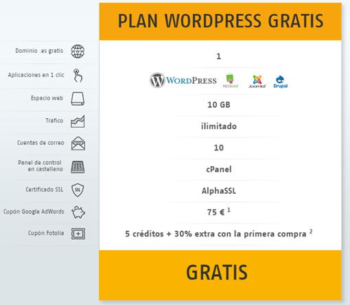 Hosting para aplicaciones   WordPress gratis   Host Europe