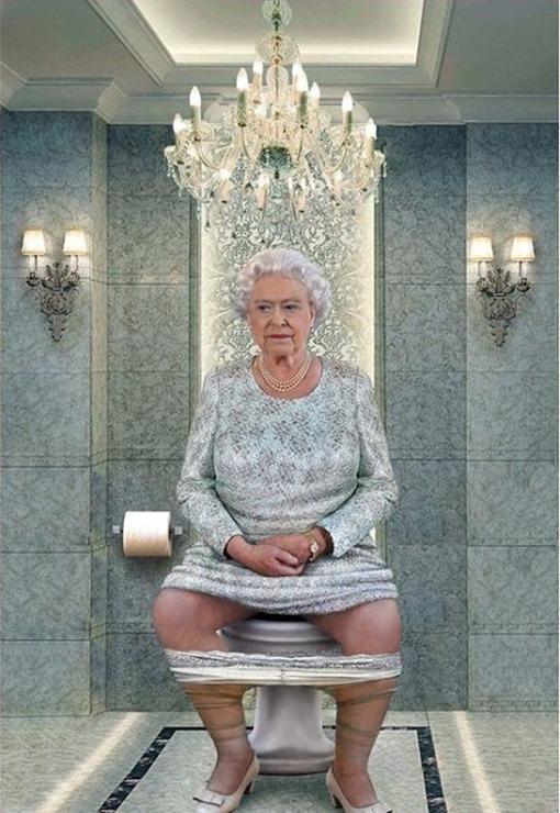 Isabel-II-trono-fotomontaje