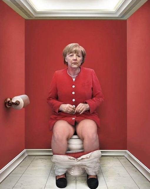 canciller-Angela-Merkel-Cristina-Guggeri-trono