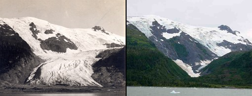 Glaciar Toboggan, Alaska