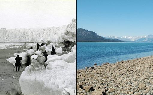 Muir Glacier melt, Alaska