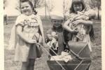 Fotografías de niños jugando a lo mismo en el S.XIX y ahora ceslava 42