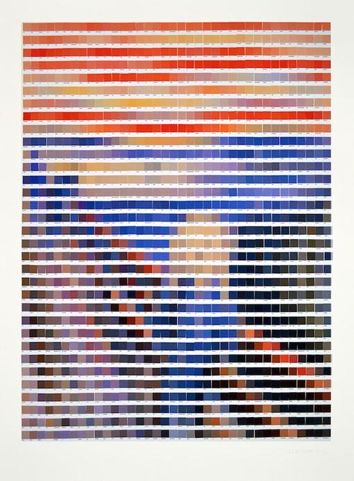 nick-smith-Pantone-arte-pixelado-el grito de Munch