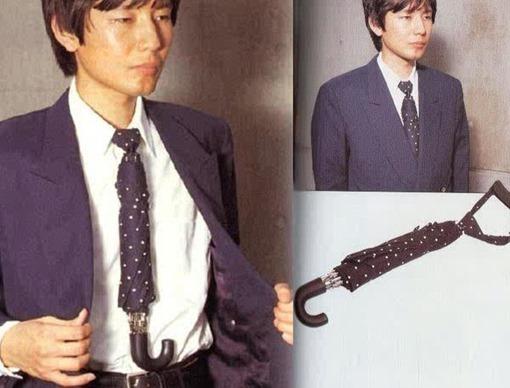 paraguas-corbata