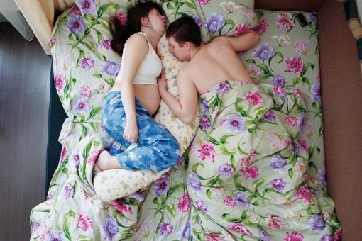 Fotografías de embarazadas esperando bebé Jana Romanova