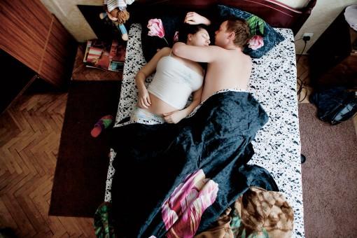 Fotografías de embarazadas esperando bebé Jana Romanova (6)