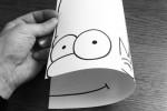 80 dibujos que se salen del papel – Anamorfosis ceslava 32