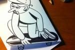 80 dibujos que se salen del papel – Anamorfosis ceslava 27