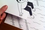 80 dibujos que se salen del papel – Anamorfosis ceslava 25