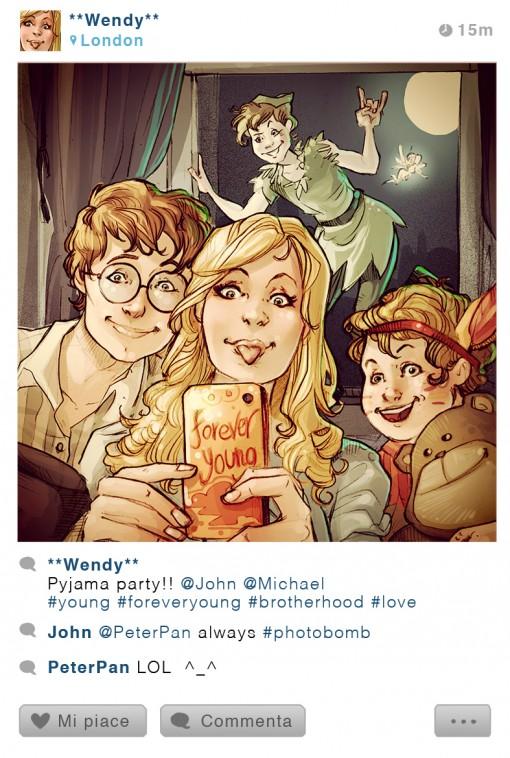 Peter Pan Wendy personajes diseny MundoReal Instagram.jpg (2)