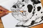 80 dibujos que se salen del papel – Anamorfosis ceslava 68