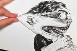 80 dibujos que se salen del papel – Anamorfosis ceslava 61